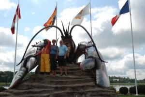 Le homard géant de Shédiac