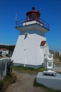 Le phare de Cap Enragé avec ses 2 cornes de brume