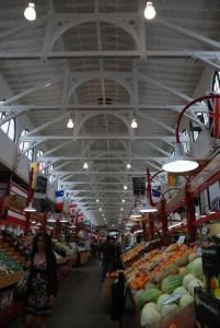 Le marché couvert de St-John